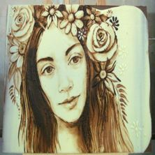 Picture of Painting on chocolate