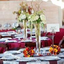 Obrázek Kytice na stůl - Bílé Hortenzie