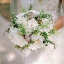 Picture of Bridal Bouquet - White Peonies