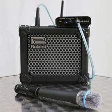 Picture of MINI SOUND SYSTEM +  WIRELESS MICROPHONE