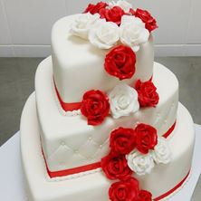 Picture of Wedding cake Heart