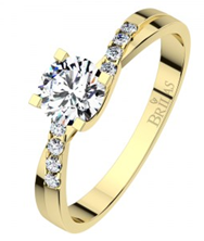 """Picture of Engagement rind """" Zante Gold"""""""
