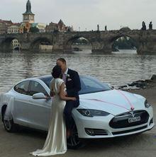 Obrázek Svatební Tesla S