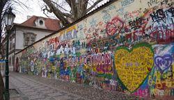 Obrázek z Církevní obřad - Lennonova zeď
