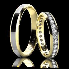 Obrázek Snubní prsteny 4639 - KOMB
