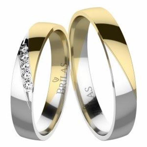 Obrázek z Snubní prsteny - Eleanor Colour GW