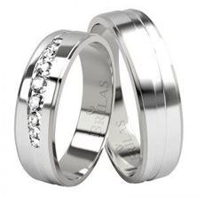 Obrázek Snubní prsteny - Lajla Silver
