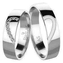 Obrázek Snubní prsteny - Constanza Silver