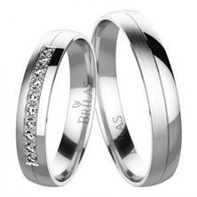 Obrázek Snubní prsteny - Fannia Silver