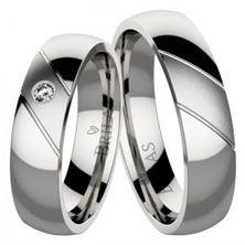 Obrázek Snubní prsteny - Emanuele Steel