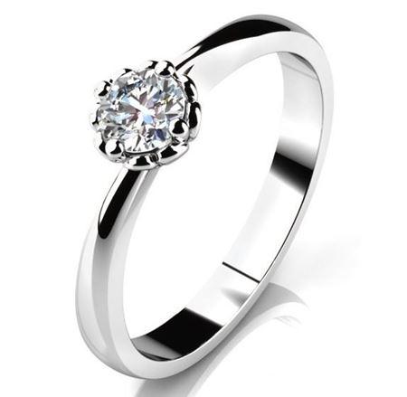 Obrázek z Zásnubní prsten - Helios White, Gold