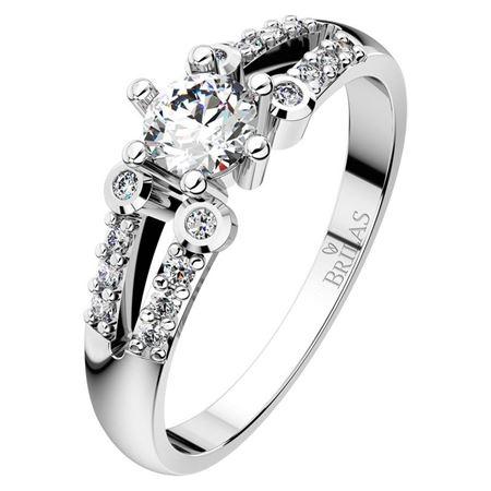 Obrázek z Zásnubní prsten - Berenika White, Gold