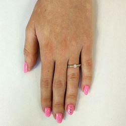 Obrázek z Zásnubní prsten - Amanda White, Gold