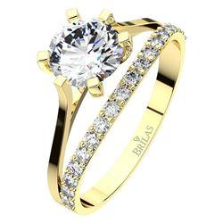 Obrázek z Zásnubní prsten - Justina White, Gold