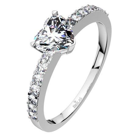 Obrázek z Zásnubní prsten - Amite White, Gold