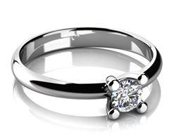 Obrázek z Zásnubní prsten - Hestia White