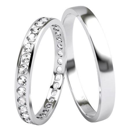Obrázek z Snubní prsteny - Eliso White