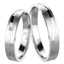 Obrázek Snubní prsteny - Albina Silver