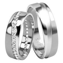 Obrázek Snubní prsteny - Michelangelo Silver