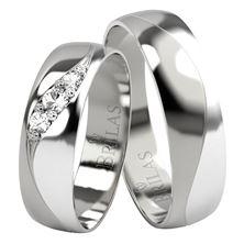 Obrázek Snubní prsteny - Laeca Silver