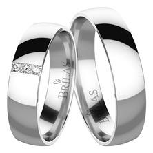 Obrázek Snubní prsteny - Luisella Silver