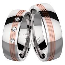 Obrázek Snubní prsteny - Verona Stone