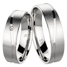 Obrázek Snubní prsteny - Dante