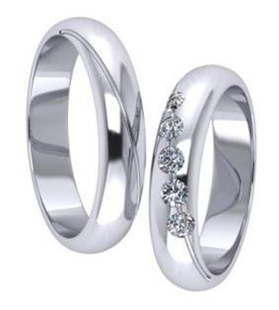 Obrázek z Snubní prsteny P5