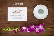 Obrázek Pozvánka ke svatebnímu stolu - Circle