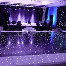 Obrázek Černé LED taneční parkety L