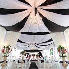 Obrázek Svatební téma černá & bílá