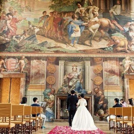 Obrázek z Církevní obřad v císařském sálu