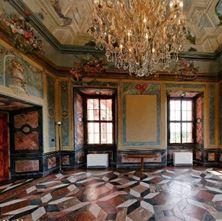 Obrázek Symbolický obřad mramorový sál v Trojském zámku
