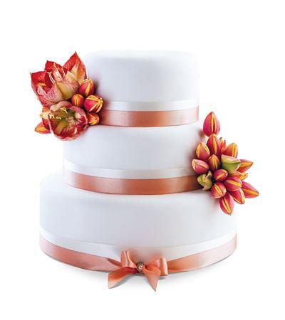 Picture of Wedding cake Beautiful Sunset
