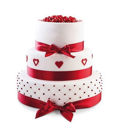 Obrázek z Svatební dort Love Forever