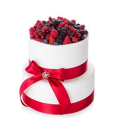 Obrázek z Svatební dort Fruity Delight