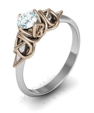 Obrázek z Zásnubní prsten Naos