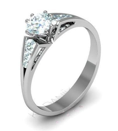Obrázek z Zásnubní prsten Hadar
