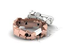 Obrázek Snubní prsteny Tron Gold