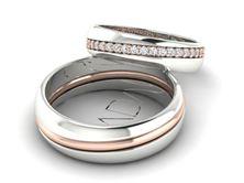 Obrázek Snubní prsteny Lean