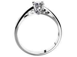 Obrázek z Zásnubní prsten LOVE 037 Platina