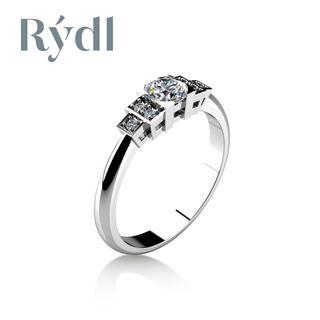 Obrázek z Zásnubní prsten LOVE 065 Zlato
