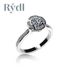 Picture of Engagement ring LOVE 073 Platinum