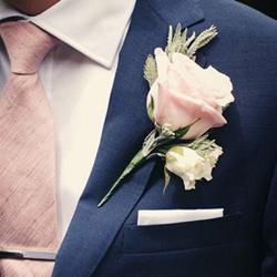 Obrázek z Korsáž pro Ženicha - růže