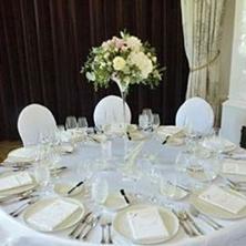 Obrázek Úzká váza s květinami 50x50cm