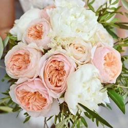 Obrázek z Kytice pro nevěstu z pivoněk