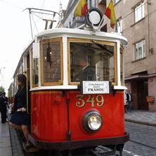 Obrázek Historická tramvaj