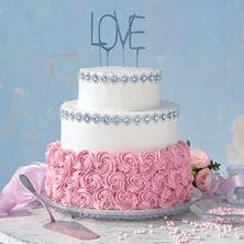 Obrázek Jahodový svatební raw dort