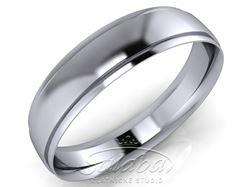 Obrázek z Pánský snubní prsten PATRIK