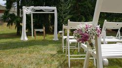 Obrázek z Svatba pod širákem
